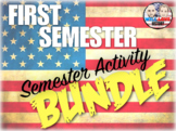 First Semester U.S. History Semester Activity Bundle (ACTIVITIES ONLY)
