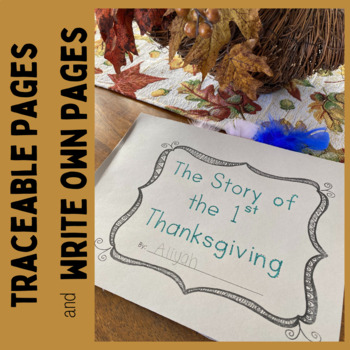 1st Thanksgiving Book