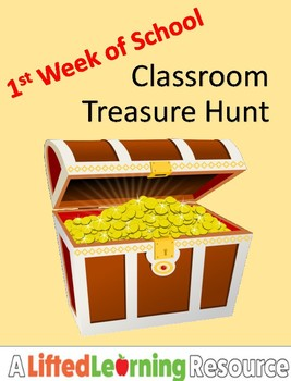 1st Week of School Treasure Hunt