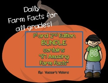 "BUNDLE     ""Amazing Farm Facts"""