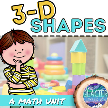 1st and 2nd Grade 3-D Geometry Task Cards