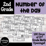 1st and 2nd Grade Daily Math Review: Number of the Day
