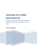 1st and 2nd Grade Diagnostic, Intervention and Progress Monitoring Kit - Math