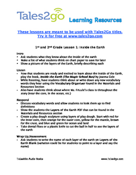 1st and 2nd Grade Earth Unit- Listen With Tales2Go Titles