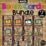 1st and 2nd Grade Math Boom Cards™ BUNDLE for Distance Learning