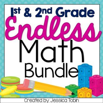 1st and 2nd Grade Math ENDLESS BUNDLE