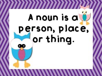 1st and 2nd Grade Noun Unit