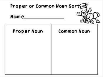 1st and 2nd Grade Noun Unit