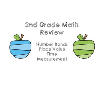 1st and 2nd Grade Review Bundle