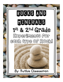 1st and 2nd Grade Rocks and Minerals Experiments