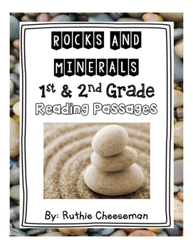 1st and 2nd Grade Rocks and Minerals Reading Passages