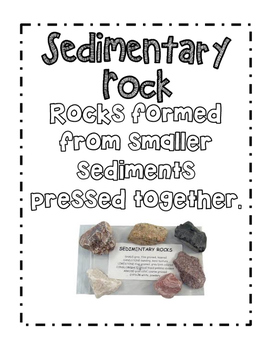 1st and 2nd Grade Rocks and Minerals Vocab Posters