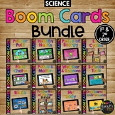 1st and 2nd Grade SCIENCE Boom Cards™ BUNDLE for Distance