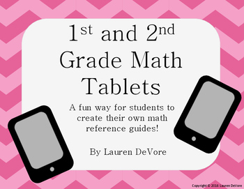1st and 2nd Grade Math Tablets