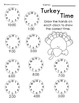 1st and 2nd Grade Thanksgiving Math and L.A. Worksheet Packet