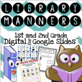 1st and 2nd Grade Library Manners