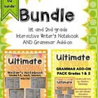 1st and 2nd grade Interactive Writer's Notebook and Gramma