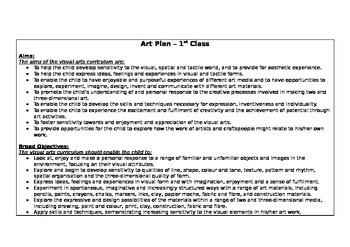 1st class/ 1st grade yearly scheme bundle