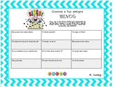 1st day of school activity for Spanish class