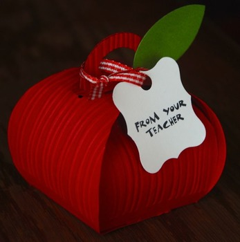 1st day of school/Open house apple gift (Set of 12)