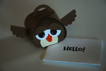 "Back to school/Open house ""owl"" gift (Set of 12)"