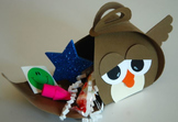 """Back to school/Open house """"owl"""" gift (Set of 12)"""