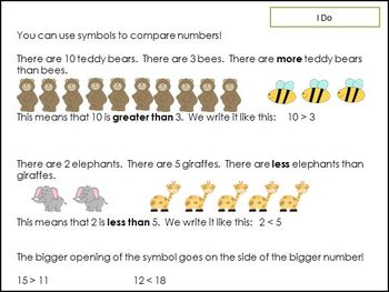1st grade Common Core Lessons-Domain 2 (Number and Operations in Base Ten)