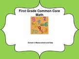 1st grade Common Core Lessons-Domain 3 (Measurement and Data)
