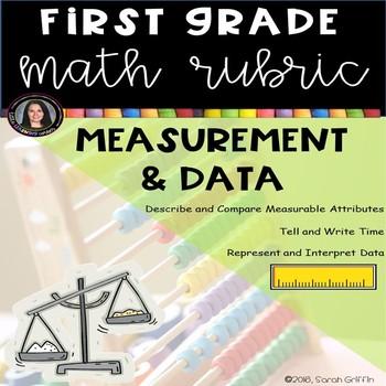 1st Grade Math Rubric - Measurement and Data