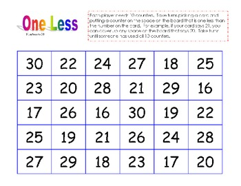 1st grade Common Core number sense games