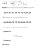 1st grade Common Core pretest