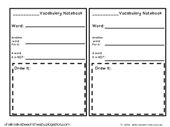 1st grade Core Academic Vocabulary WORD WALL cards English Language Arts