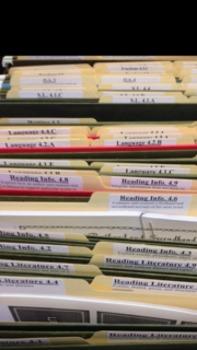 Common Core Labels 1st Grade ELA and MATH