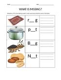 1st grade ELA middle vowel