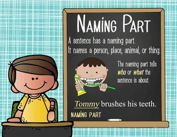 the BRAINY BUNCH - 1st grade GRAMMAR posters / Scott Foresman Reading