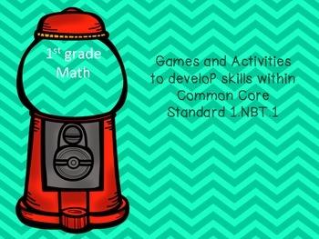 1st grade Games- 1.NBT.1