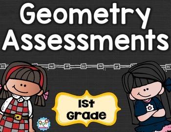 Geometry Tests 1st Grade