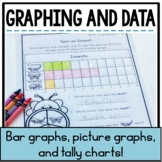 Graphing and Data {Bar Graphs, Picture Graphs, and Tally Charts}