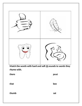 1st grade hard th and soft th 2 part worksheet by teachers in cahoots 1st grade hard th and soft th 2 part worksheet ibookread ePUb