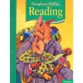 1st grade Houghton Mifflin weekly plan 8.1