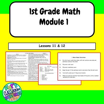 1st grade Math module 1 lessons 11-12