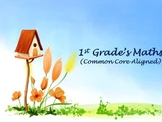 1st grade Math's Review - Spring break