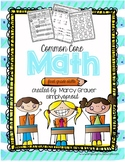 1st grade No Prep Common Core Math Skills Practice
