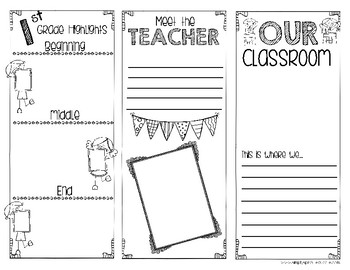 End of the year is here! Brochures to welcome your next class