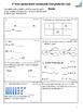 1st grade October Math class/homework with parent guides &