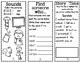 1st grade Phonics Pamphlets aligned with Benchmark Unit 4