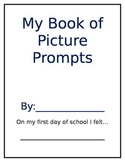 1st grade Picture Prompts Booklet