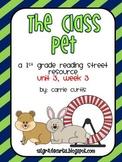 1st Grade Reading Street: Unit 3, week 3 The Class Pet