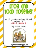 1st Grade Reading Street: Unit 3 week 4: Frog and Toad Together