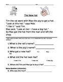 1st grade Reading comprehension